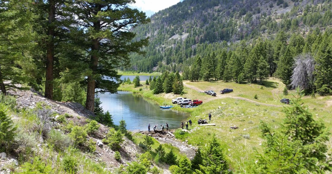 Timber Creek campground IDAHO