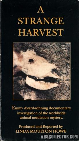 A Strange Harvest VHS