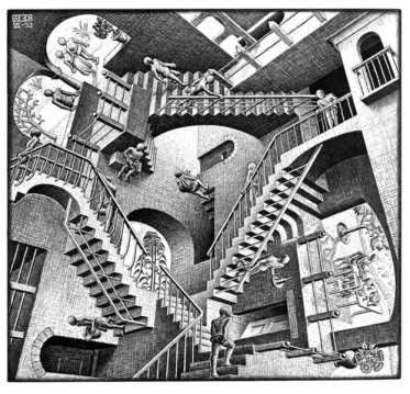 MC Escher stairways